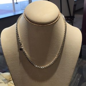 Authentic Tiffany & Co Sterling Silver Box Chain